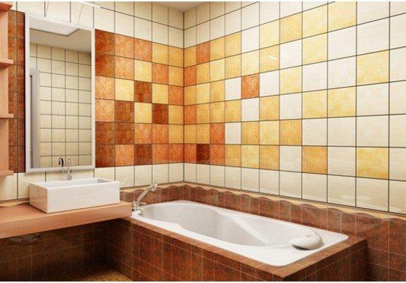 выбор кафельной плитки для ванной комнаты