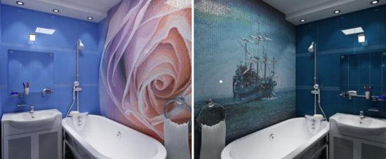 Художественная отделка ванных комнат