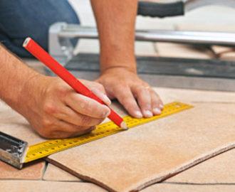 Ремонт керамической плитки: как заделать сколы и трещины