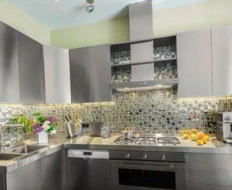 Фартук для кухни из мозаики своими руками — особенности отделки