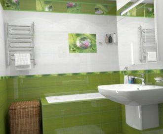 Выбираем плитку для ванной комнаты и туалета:  советы и рекомендации