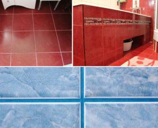 Сочетание плитки и затирки: классические варианты и контрастные комбинации