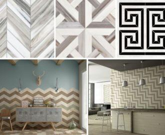 Керамическая плитка и керамогранит в интерьере: выбираем дизайн